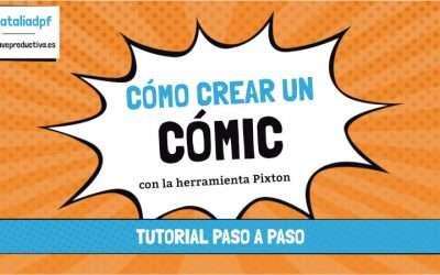 Como crear un cómic con Pixton: tutorial paso a paso