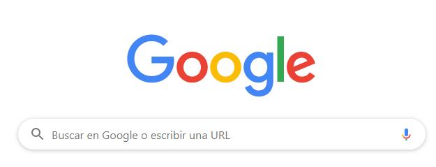 """pantallazo de la caja de búsqueda de Google, para ilustrar """"keywords"""""""