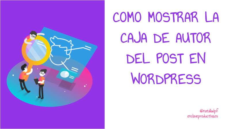 Como mostrar autor del post en Divi Wordpress