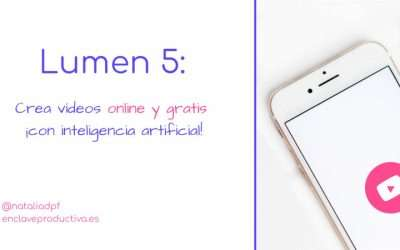 Como crear vídeos gratis y en pocos minutos con Lumen 5
