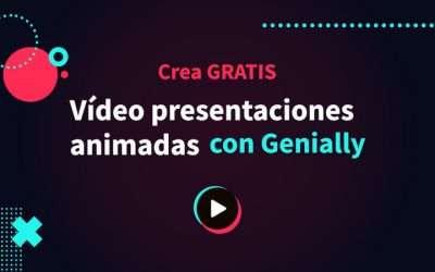 Cómo crear vídeo presentaciones animadas gratis con Genially
