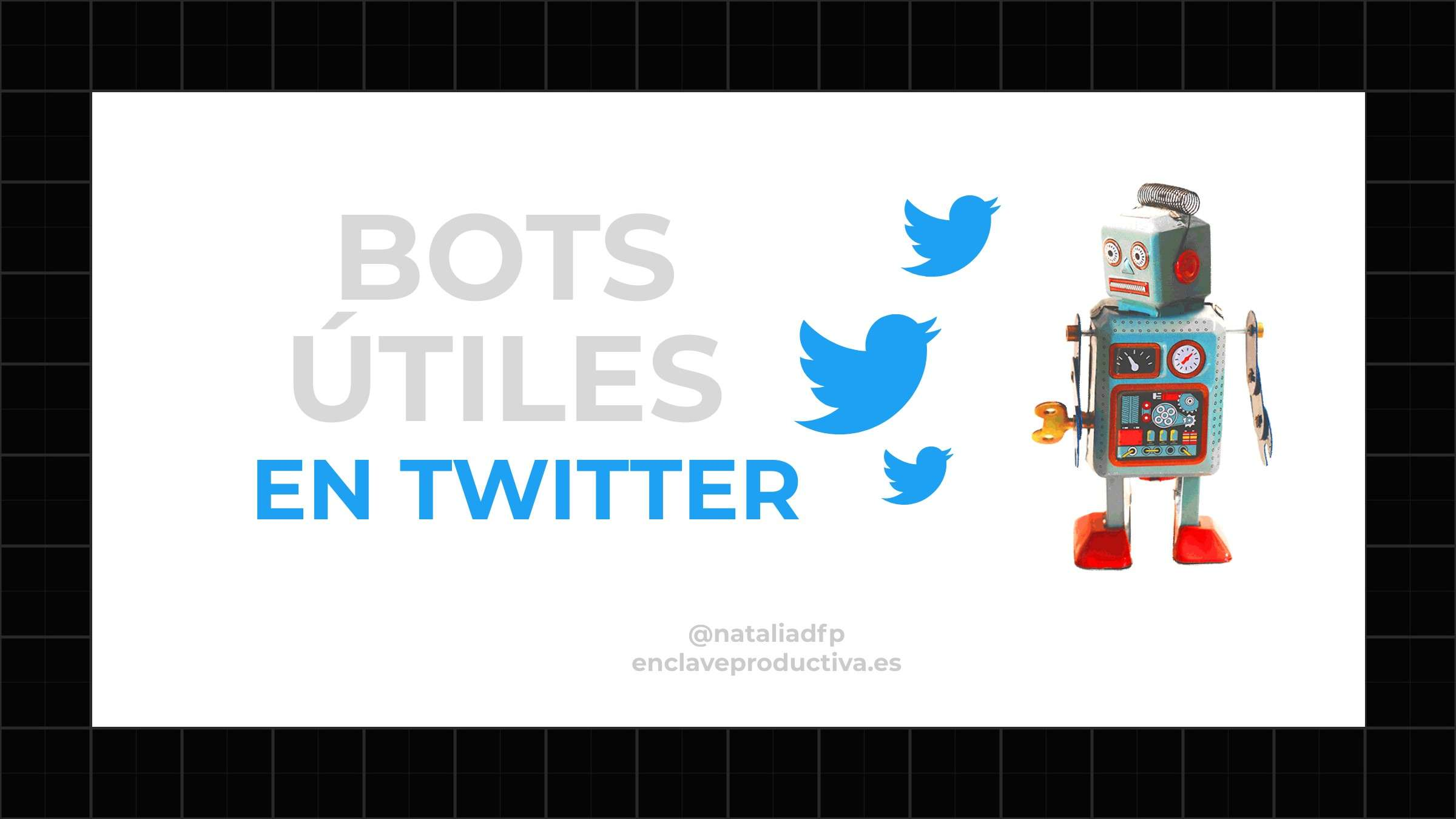 bots en twitter: portada