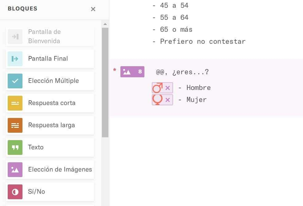 typeform-respuesta-corta